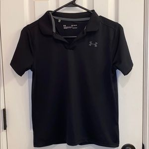 Under Armour • Youth Black Polo (YLG)